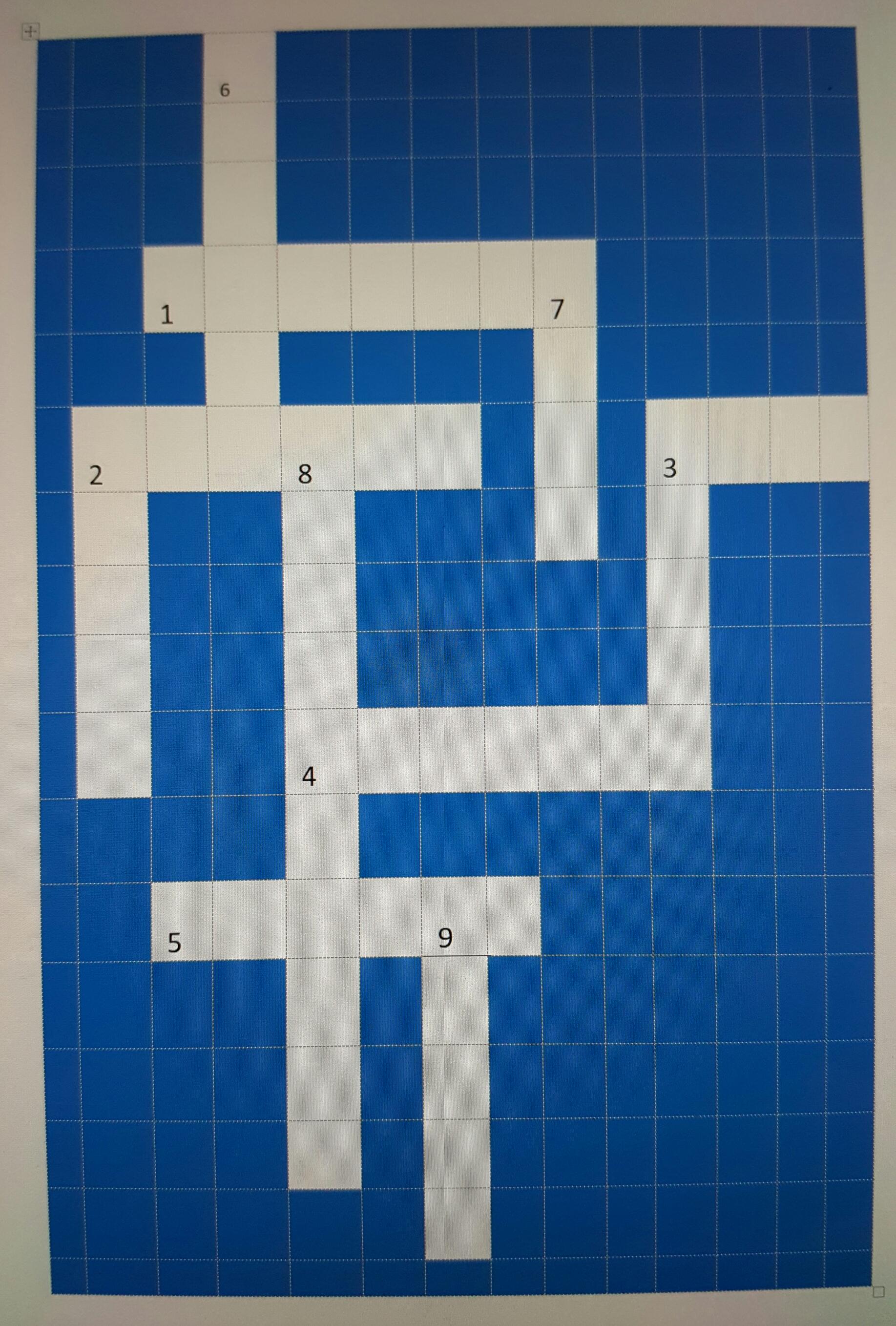 blank-crossword